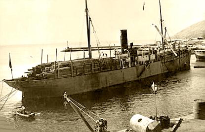 """NAVEGANDO CON EL NOMBRE DE """"PANNONIA"""" EN 1903"""